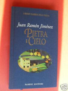 JIME'NEZ PIETRA E CIELO FABBRI EDITORI 1997