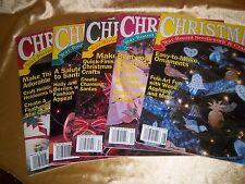 LOT of (5) CHRISTMAS Year Round Needlework & Craft Ideas Magazines