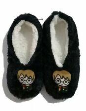 Harry Potter Footlets Ladies Black Slipper Socks UK3-8 Xmas Stocking Filler BNWT