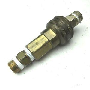 "Parker Series 30 Quick Coupling Brass Socket & Plug 3/8"""