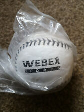 WEBEX SPORTS Leather Rounders Ball brand new lot 1