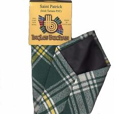 Tartan Tie Saint Patrick Irish Wool Plaid