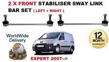 Per Peugeot Expert 2007- > 2x Anteriore Sinistro + Destro Link Stabilizzatore