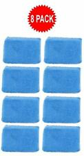 Blue Microfiber Applicator Sponge Pads Car Wash Wax Polish Detailing (8 Pack)