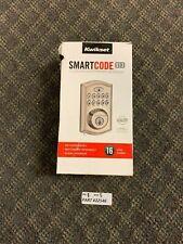 Kwikset SmartCode 913 Satin Nickel Single Cylinder Electronic Deadbolt