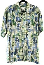 Tori Richard Size XXL Mens Cotton Lawn Hawaiian Aloha Shirt Chest 53""