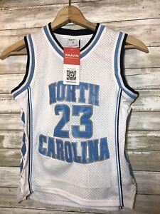 New Jordan North Carolina Jersey Boys Size Small   Fits a Sz 10