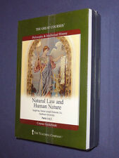 Teaching Co Great Courses  CDs :       NATURAL LAW HUMAN NATURE     new & sealed