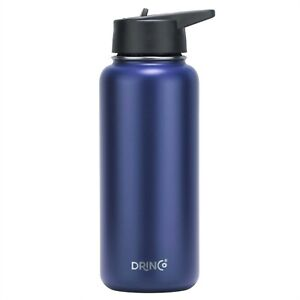 Drinco 32 oz 22 oz Insulated Stainless Steel Water Bottle