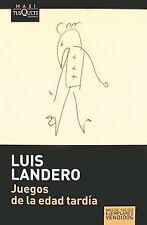 Juegos de la edad tardia (Maxi) (Spanish Edition)-ExLibrary