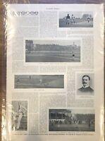 Harper's Weekly - 1894 - COLLEGE SPORTS BASEBALL - PRINT ADS - VINTAGE