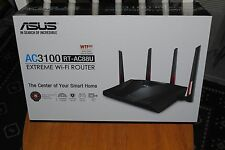 New! ASUS RT-AC88U Wireless AC3100 Dual-Band Gigabit Router AiProtection 8 Ports