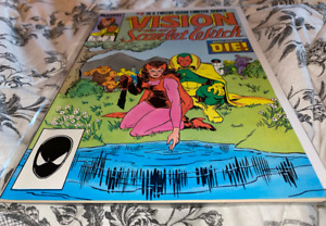 🔥(1985) MARVEL VISION AND THE SCARLET WITCH #3- 2ND SERIES WANDAVISION on MCU🔥