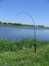 Fishing pole automatic fish hook setters, fit on standard rods. Stainless steel