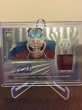 2013-14 Calvin Pickard Panini Totally Certified Rookie Auto Jsy