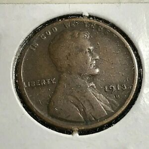 1913-D LINCOLN PENNY BETTER GRADE COIN