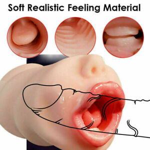 Realistic Male Masturbaters For Men Pocket Pussy Vagina Anal Sex Toy Sex Doll