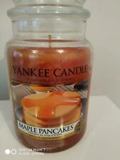 YANKEE CANDLE LARGE JAR 'MAPLE PANCAKES' - NEW & UNUSED