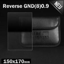 Nisi REVERSE gnd8 gnd0.9 quadrato grigio -/Filtro cronologia 3 STOP 150x170mm