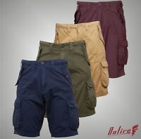 Mens Onfire Casual Cotton Cargo Shorts Pants Bottoms Sizes from S to XXXL