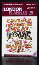 PLANNER di Londra Souvenir London 2012 PARAOLIMPICI Edizione Agosto/Settembre 2012