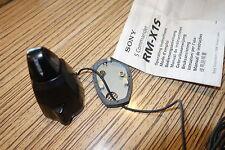 Autoradio Remote Stick Sony RM-X1S + Platte. Fernbedienung / Joystick