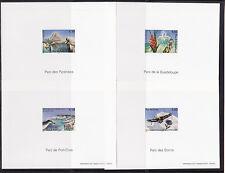 FG ND   série nature  parc naturels régionaux  1997   num: 3054 a 3057