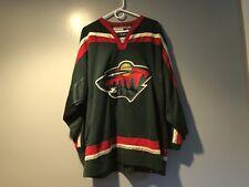 Minnesota Wild - Blank Koho Away Green Jersey sz XL