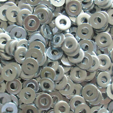 #6 SAE Flat Washers Steel Zinc Plated 5/32