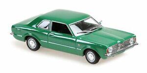 MINICHAMPS MAXICHAMPS 940081304 - FORD TAUNUS – 1970 GREEN 1/43