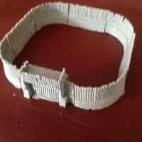 Wargames 28MM Warhammer Frostgrave Dark Ages Resin Fort