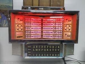 Rowe - AMI 200 Jukebox Wallbox MP3 Conversion - external electronics