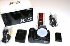 Pentax K K-5 16.3MP Digital SLR Camera - Black (Body Only)