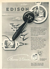 1949 Thomas Edison Voicewriter Vintage Advertisement Print Ad J519