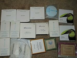 NEW UNUSED SOAPS COLLECTION AROMATHERAPY ASSOCIATES ELEMIS CRABTREE EVELYN SOAP