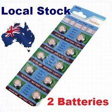 2x Pack LR44 1.5 Volt Alkaline Button Cell Battery AG13 A76 357 303 LR 44 sr44