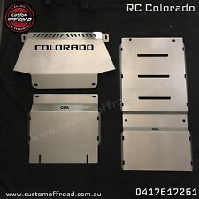 RC Colorado 3mm Stainless Steel Front & Sump 3 Piece Bash Plate Set