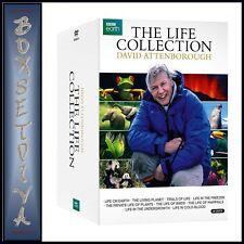 DAVID ATTENBOROUGH THE LIFE COLLECTION  BRAND NEW DVD BOXSET
