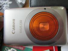 Canon IXUS 130 / PowerShot  IS 14.1MP Digital Camera -CHAMPAGNE/ORANGE