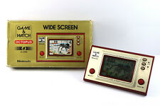 Nintendo Game & Watch Wide Screen Octopus OC-22 Boxed Made in Japan 1981 F/P