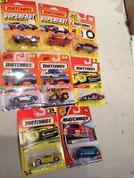 8 Vintage Matchbox Cars Lot 8 of 20 Lot Die Cast Collection