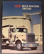 1992 Peterbilt Truck Brochure Model 357 375 377 378 379 Excellent Original 92