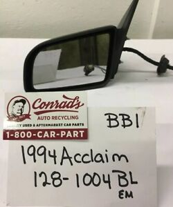 USED Vintage Plymouth Acclaim 1994' Left side view mirror (drivers Quality)