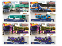 Hot Wheels 2020 Car Culture Team Transport Case G Set of 4 Trucks FLF56-956G
