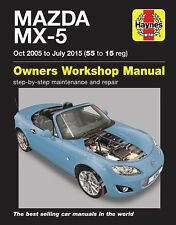 Reparaturanleitung Mazda MX 5 NC 2006 - 2015 Brandneu!