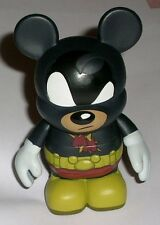 "SUPER MOUSE Mickey Hero Disney Urban #4 VINYLMATION Authentic Park 3"" with Card"