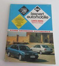 Revue technique l'expert automobile 280 1990 Lancia dedra essence & diesel