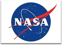 Nasa Logo Flach Kühlschrank Magnet (NM)