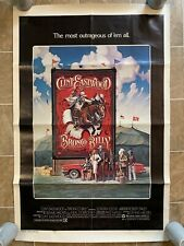 Clint Eastwood - BRONCO BILLY - Original One Sheet Movie Poster - 1980