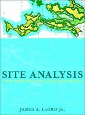Site Analysis: Linking Program and Concept in Land Planning and Design-ExLibrary